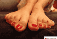 Baiersbronn Füße lecken