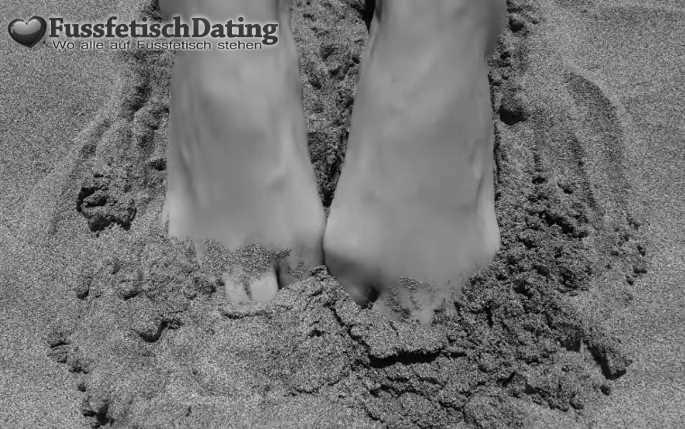 Ich habe French Nails Füße.