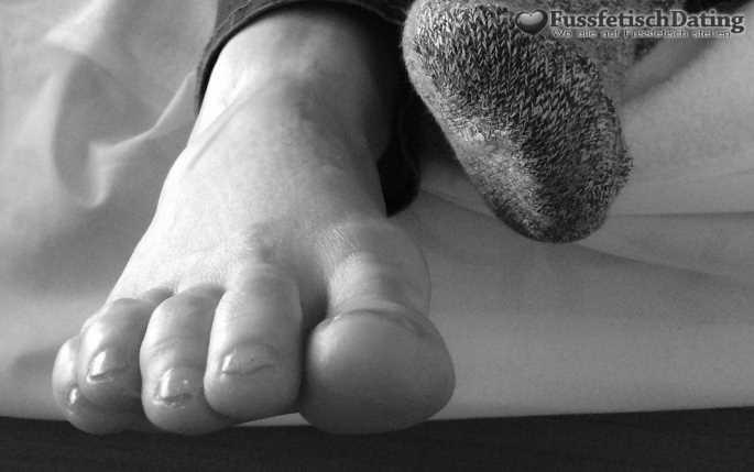 Ich drücke dir meinen Fuß in die Fresse.