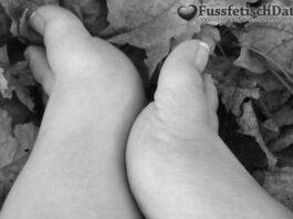 Fußfetisch Queen mit leckeren Füßen