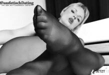 Sofort Sex mit einer Fußfetisch Lady