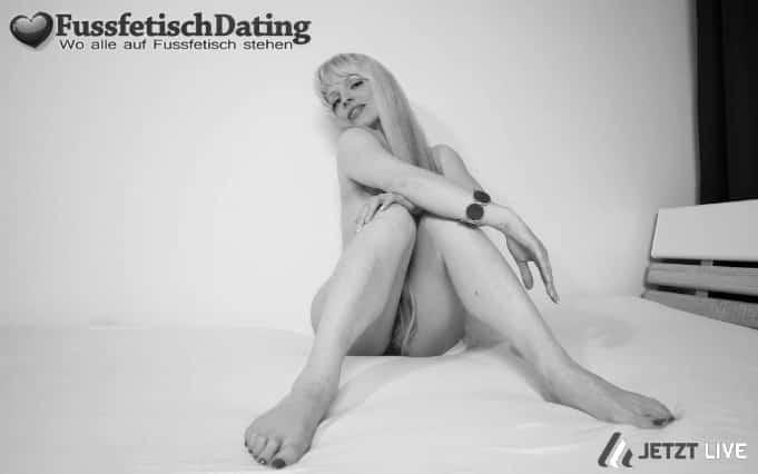 Treibe es online mit einer Fußfetisch Lady