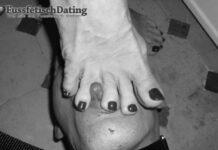 Fußfetisch Paar sucht devote Männer für Fußfetisch Treffen