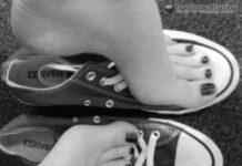Fußnutte bietet Taschengeldsex