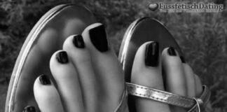 Machen wir ein Date mit Fußsex?