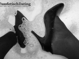 Nasse Schuhe Fetisch