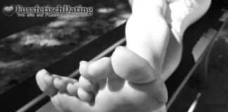 Willst Du mal richtig salzige Füße lecken?