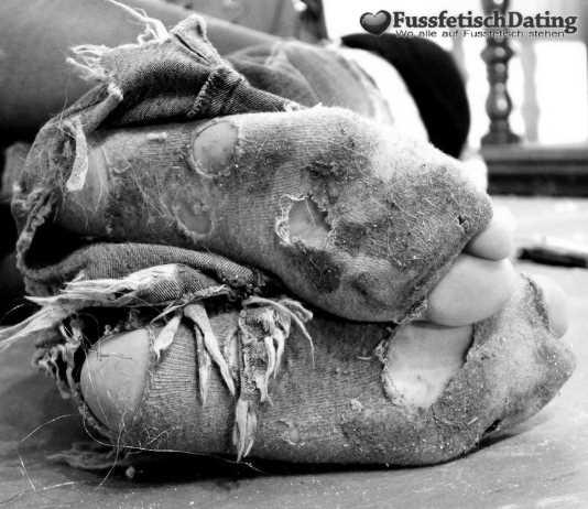 Leckere schmutzige Socken