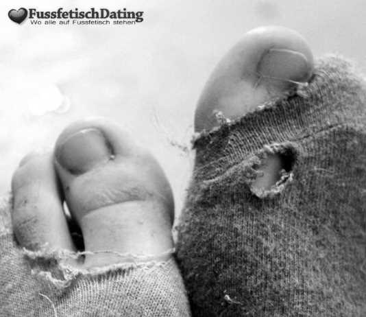 Schmutzige Socken von einem Punk Girl