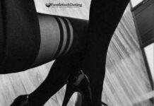 Fußfetisch Dating mit Schuhschlampe