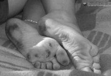 Du darfst ihre stinkende Füße lecken